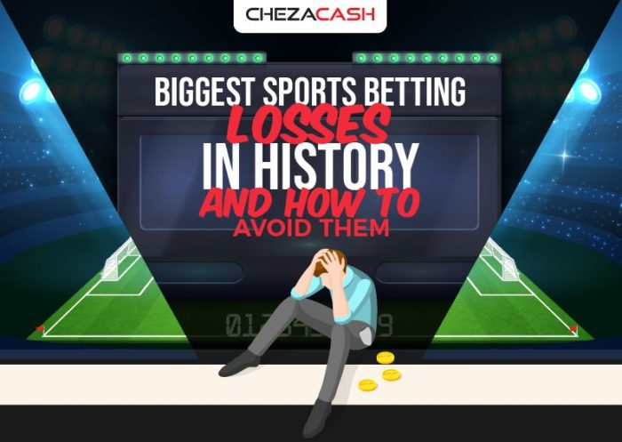 sports betting loses in history
