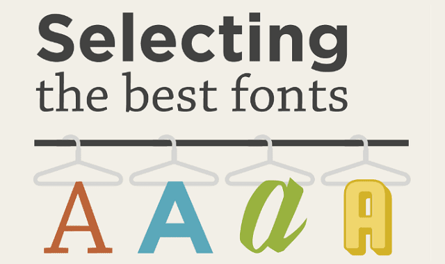 Typefaces for Your Marketing Materials