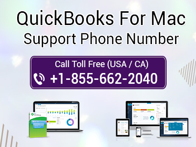 QuickBooks For MAC Support Phone Number