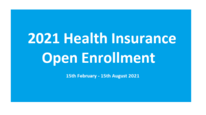 When is open enrollment for health insurance 2021?