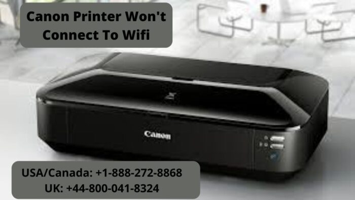 solve canon printer won't connect to wifi